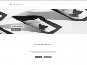 MOLFO 英語版ウェブサイト